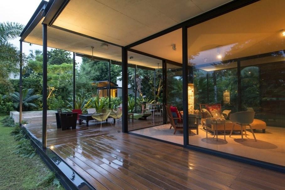 Energy-Saving Itzimna House in Mexico - design ideas