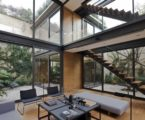 Four Patio House in Mexico by Andres Stebelski arquitecto