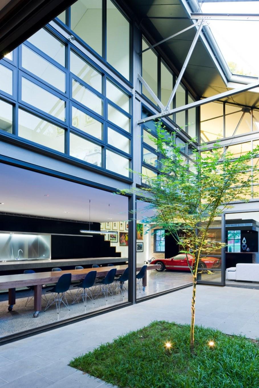 Grand loft house in Australia by Corben Architects studio - Interior