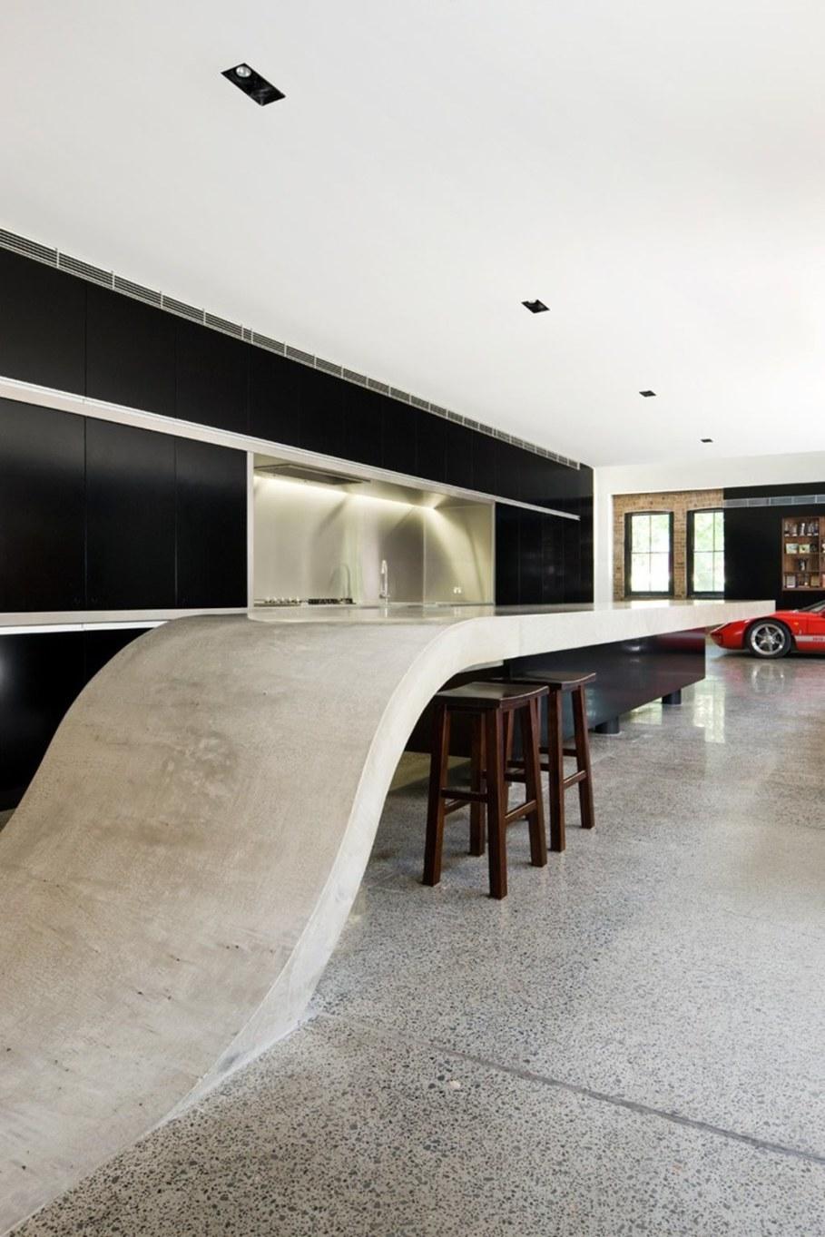 Grand loft house in Australia by Corben Architects studio - Kitchen 3
