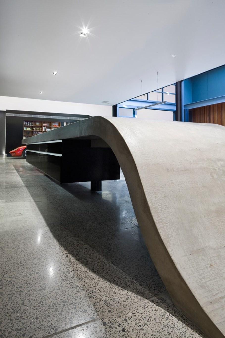 Grand loft house in Australia by Corben Architects studio - Kitchen 4