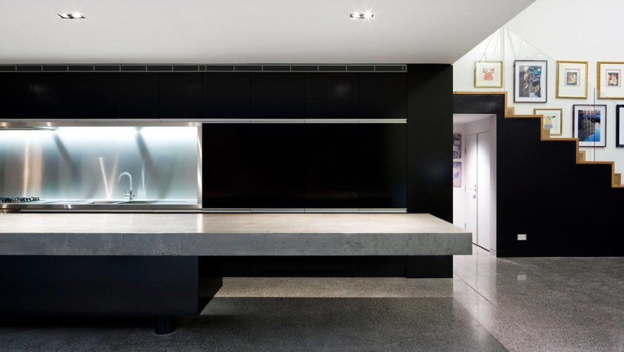 Grand loft house in Australia by Corben Architects studio - Kitchen 6
