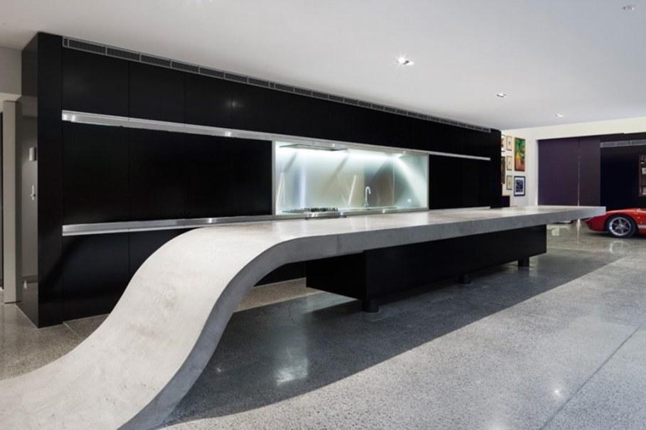 Grand loft house in Australia by Corben Architects studio - Kitchen