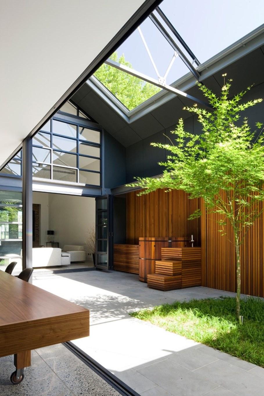 Australian corben architects studio converted a huge for Loft home designs australia