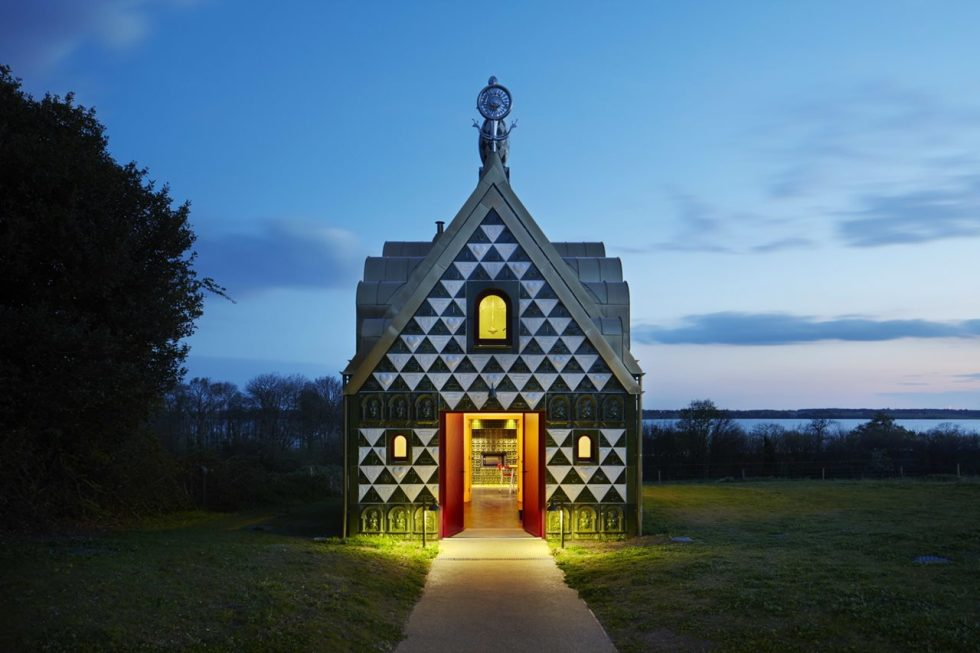 Grayson Perry's Gingerbread House -Entrance