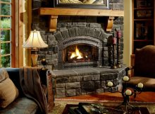 Howtodecoratethezonearoundthefireplace:originalideas