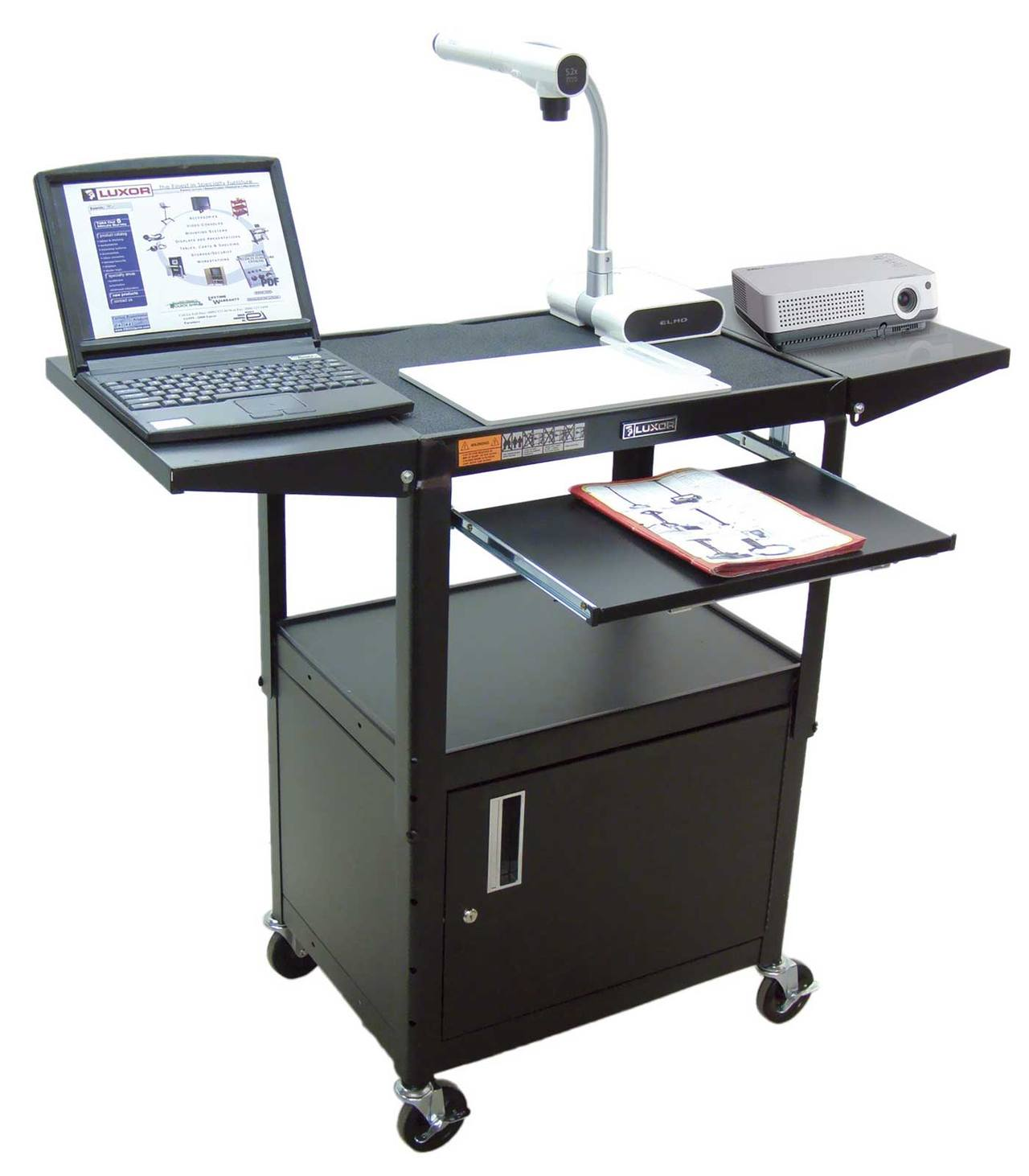mobile computer desk mobile laptop workstations how to choose the right one 29371