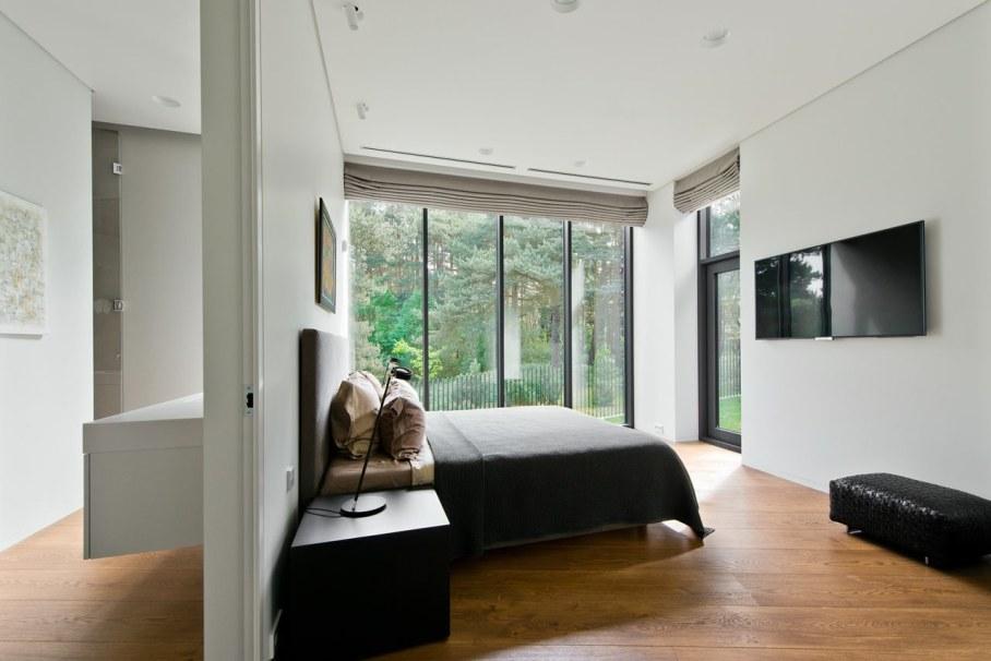 Modern House in Palanga - Bedroom and bathroom