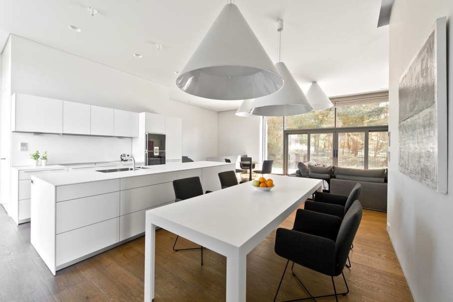Modern House in Palanga - Kitchen and dining place