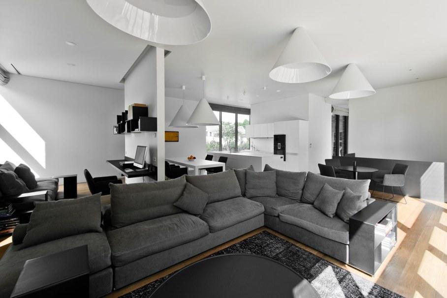 Modern House in Palanga - Living room design ideas