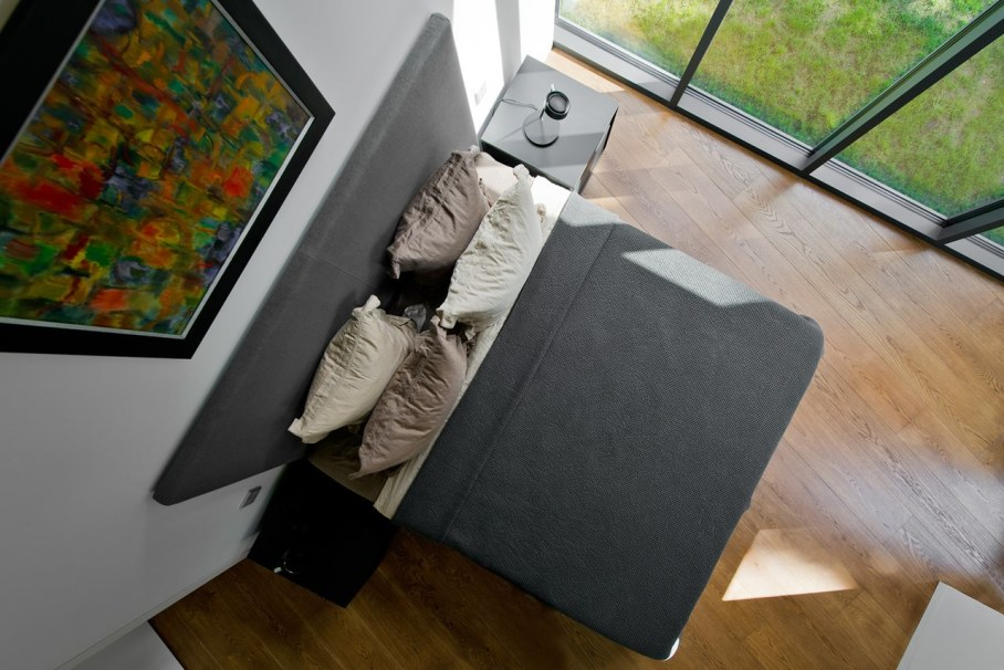 Modern House in Palanga - large bed