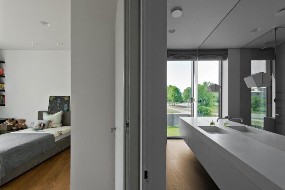 Modern House in Palanga - second bathroom