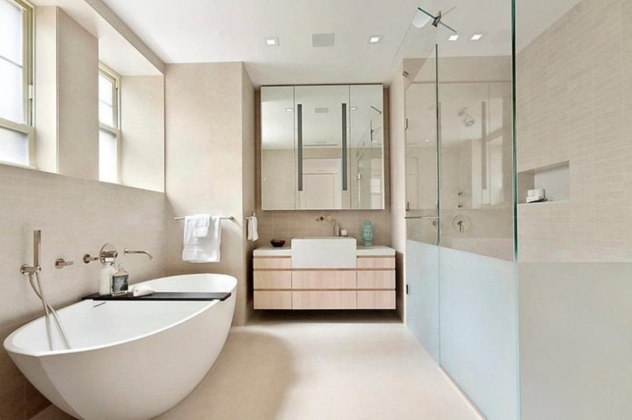 Modern duplex apartment in New York - bathroom 2