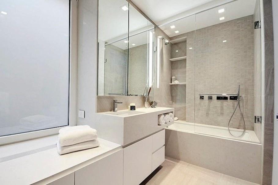 Modern duplex apartment in New York - bathroom