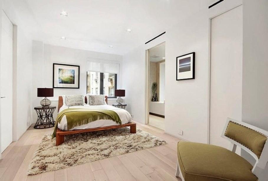 Modern duplex apartment in New York - bedroom