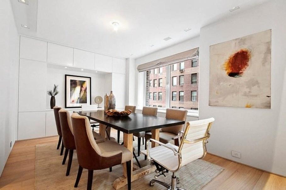 Modern duplex apartment in New York - dining room