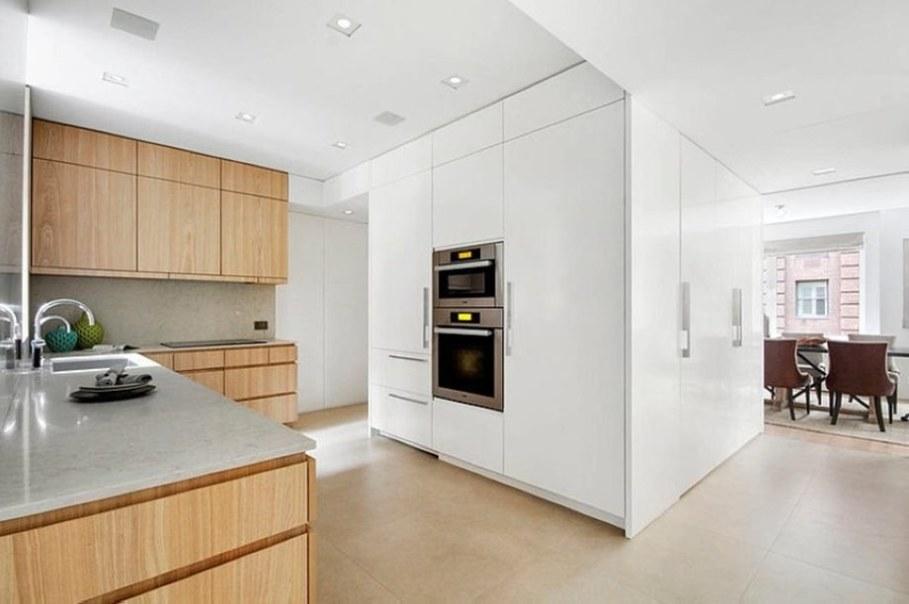Modern duplex apartment in New York - kitchen design