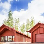 Red House in Swedish style