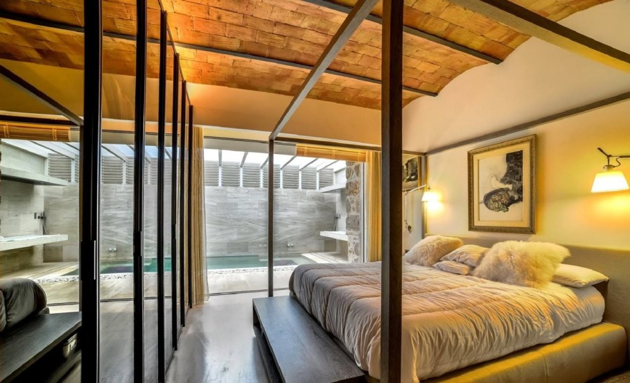 Stylish loft in Spain - Bedroom