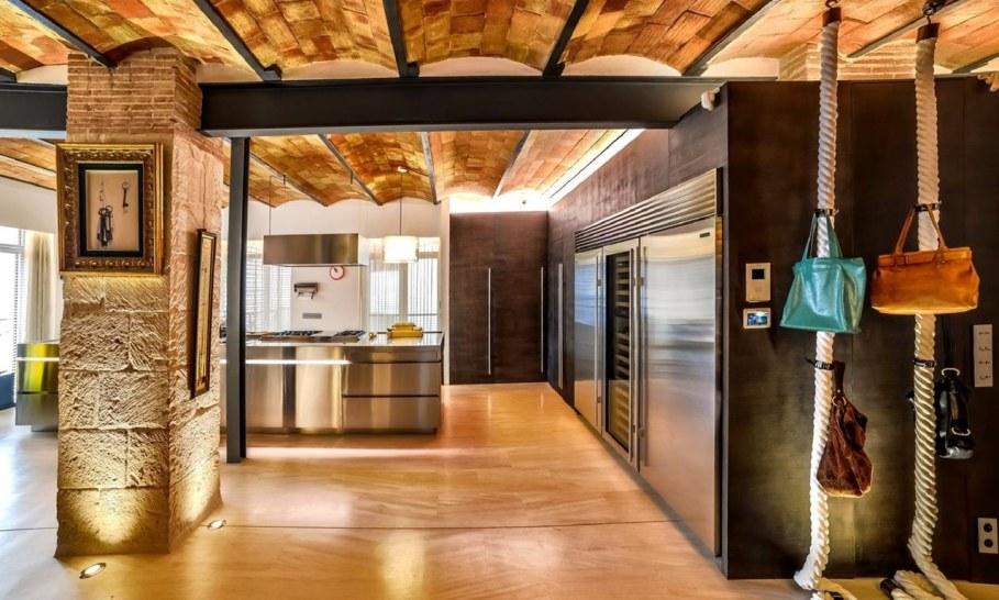 Stylish loft in Spain - Kitchen