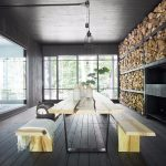 The Forestier chalet in the Canadian woods