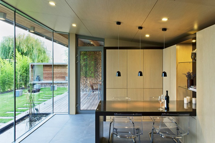 The House For The Villatic Rest From Toth Project Architect - Dining place