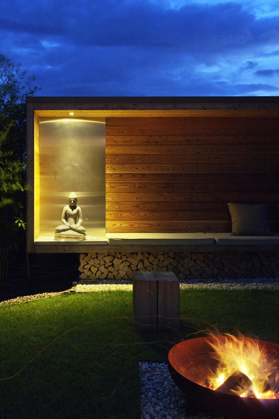 The House For The Villatic Rest From Toth Project Architect - Outdoor terrace