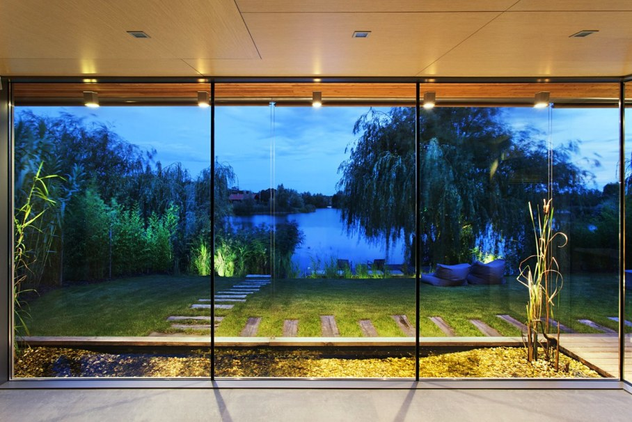 The House For The Villatic Rest From Toth Project Architect - Panoramic windows