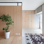 The apartment renovation from a Sinato studio in Yokohama