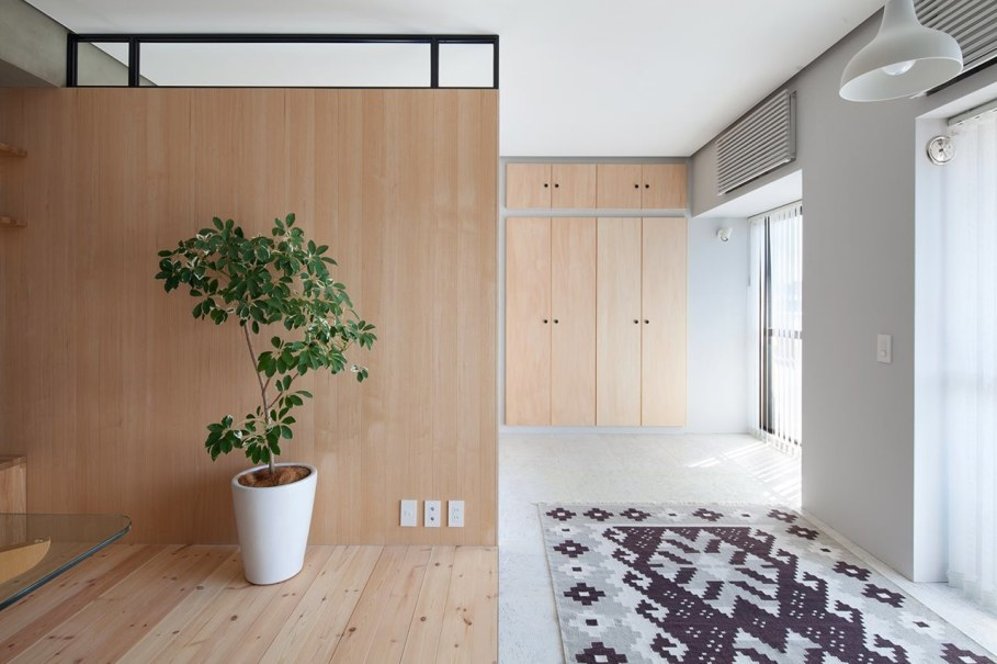 The apartment renovation from a Sinato studio in Yokohama - Decor ideas