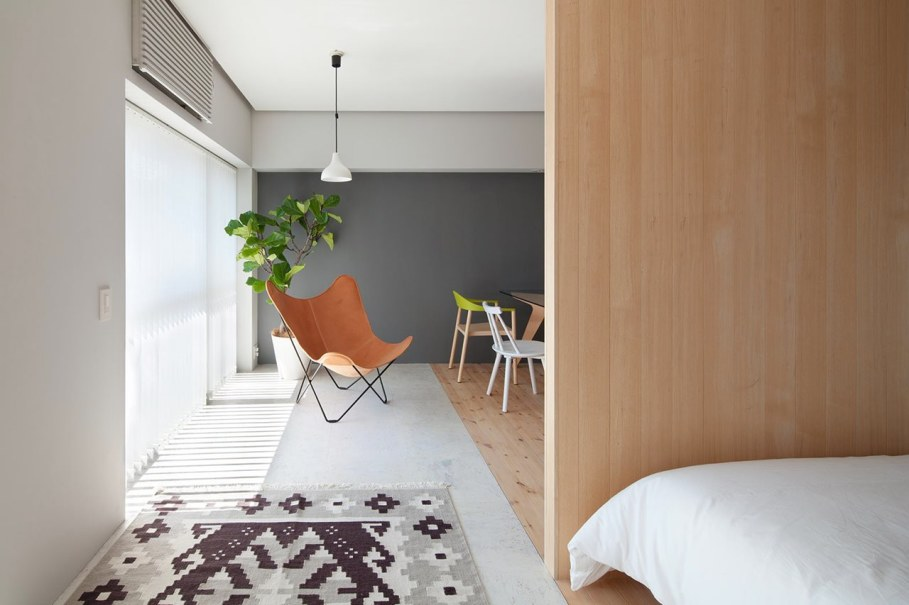 The apartment renovation from a Sinato studio in Yokohama - Furniture