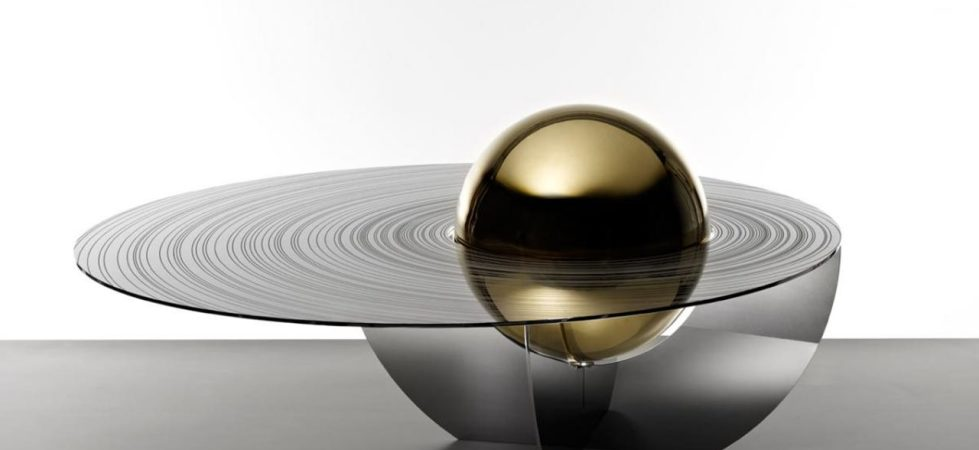 The cosmic design of the Boullee coffee table