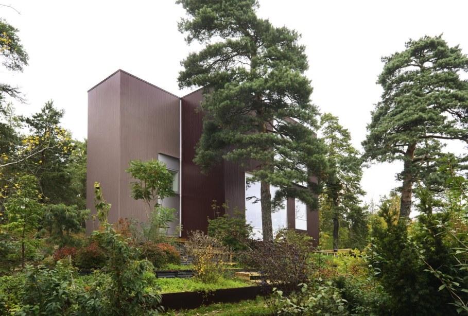 The villa Altona in ambience of untouched nature - Facade