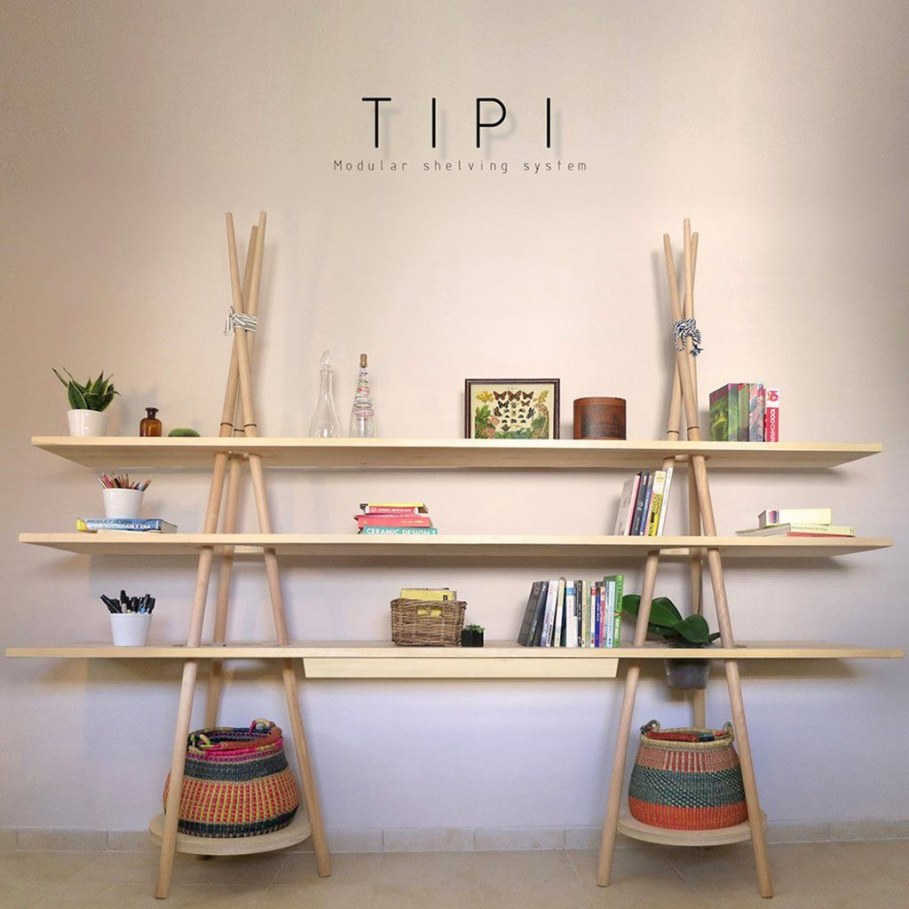 Tipi The Cross Functional Modular Shelf 1