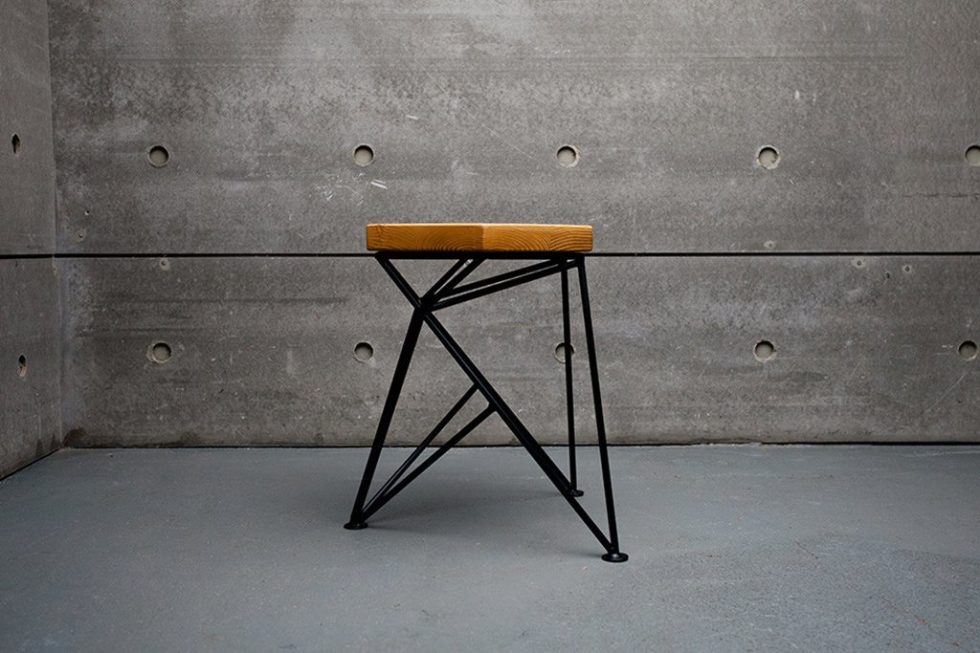 Uniquely Furniture Collection Spike Tabouret 2