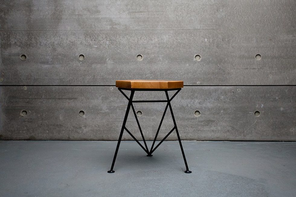 Uniquely Furniture Collection Spike Tabouret