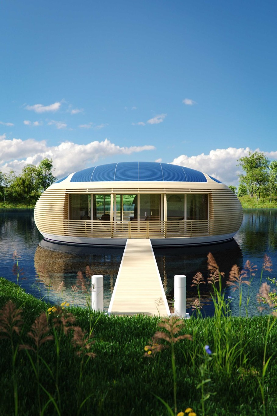 WaterNest 100 - Floating House by Giancarlo Zema 2