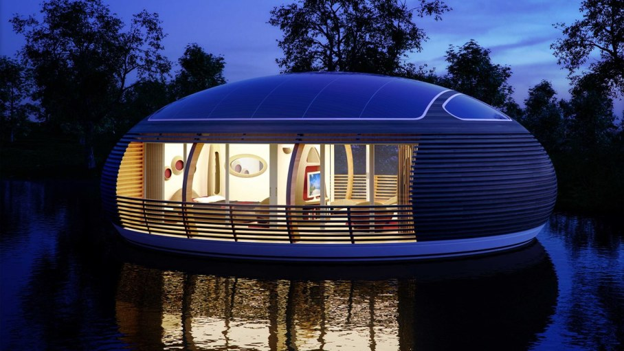 WaterNest 100 - Floating House by Giancarlo Zema 3