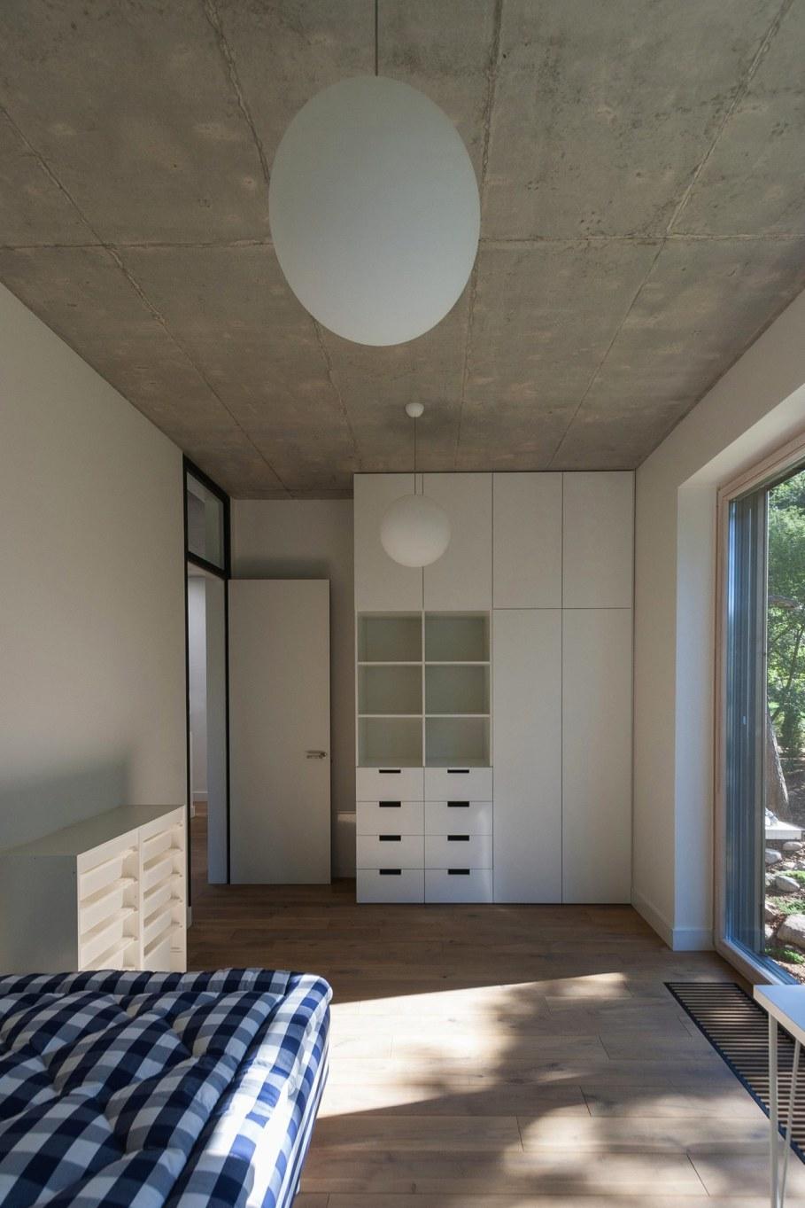 Wooden house in Vilnius - Bedroom