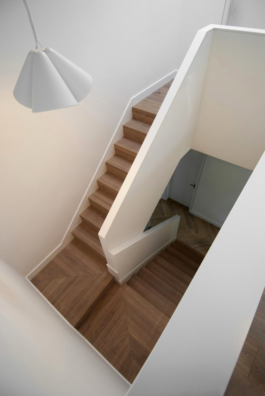 Wooden house in Vilnius - Staircase