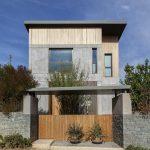 Woodwing villa in Greece