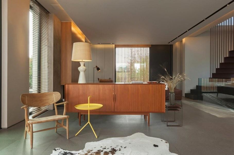 Woodwing villa in Greece - Furniture