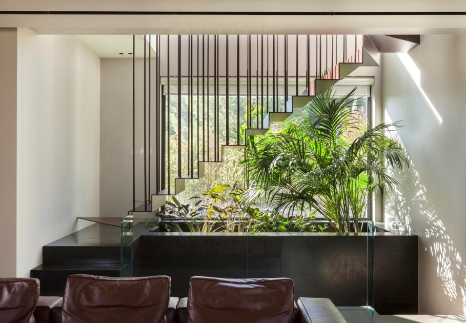 Woodwing villa in Greece - Interior design