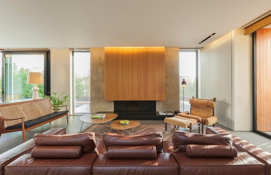 Woodwing villa in Greece - Living room