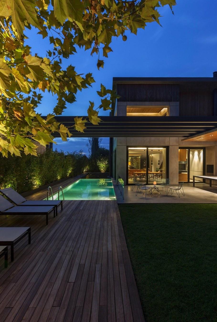 Woodwing villa in Greece - Swimming pool
