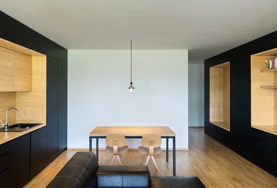 Youth Apartment in Ljubljana by Arhitektura doo studio - Dining room