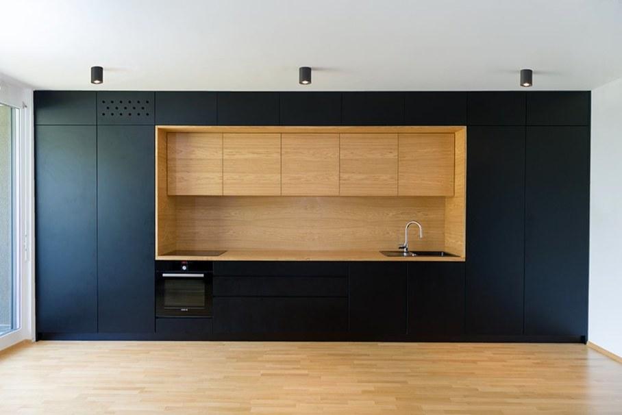Youth Apartment in Ljubljana by Arhitektura doo studio - Kitchen 2