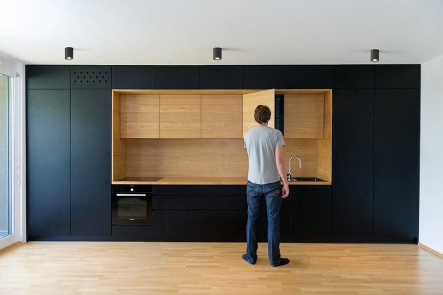 Youth Apartment in Ljubljana by Arhitektura doo studio - Kitchen 3