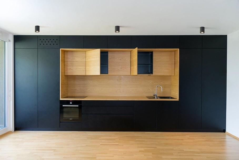 Youth Apartment in Ljubljana by Arhitektura doo studio - Kitchen 4
