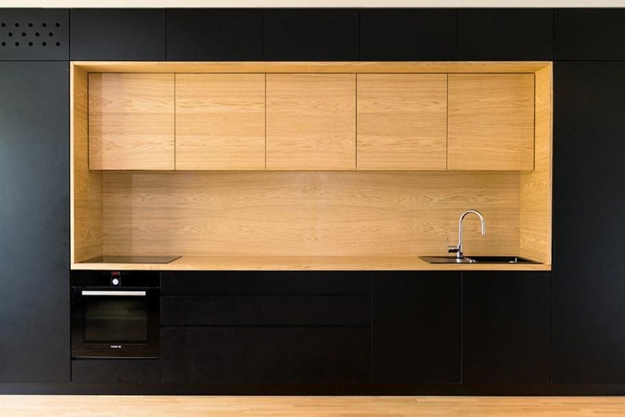 Youth Apartment in Ljubljana by Arhitektura doo studio - Kitchen